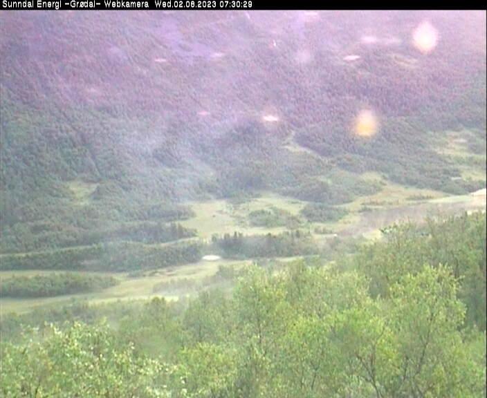 Webcam Bruhaugan, Sunndal, Møre og Romsdal, Norwegen