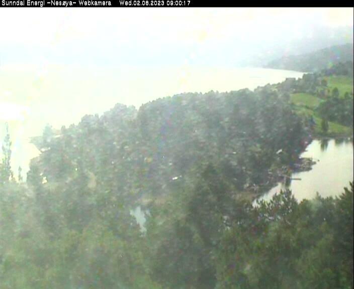 Webcam Neslandet, Sunndal, Møre og Romsdal, Norwegen